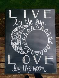 live by the sun by the moon canvas by rightbrainedcanvas my