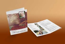 Funeral Booklets Funeral Booklets Designs For Men A Tribute For You