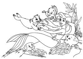 mermaid coloring sheets kids coloring pages kids