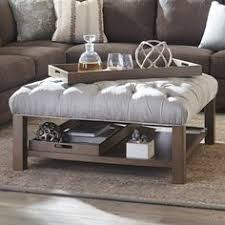 belham living coffee table storage ottoman with shelf chocolate