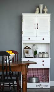 Kitchen Hutch With Desk Kitchen Hutch Makeover Remake My Repurposed Life