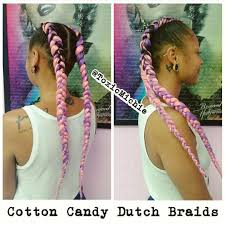 unicorn hair unicornbraids cittoncandyhair braids doubledutch