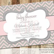 best chevron pink baby shower invitation products on wanelo