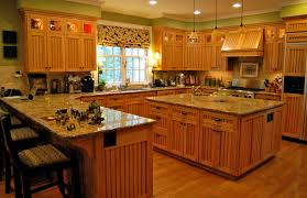 Cherry Wood Kitchen Cabinets Decoration Ideas Entrancing Ideas For Kitchen Color Set