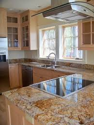 silver waves granite kitchen traditional with glass front cabinets
