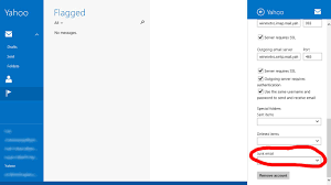 yahoo email junk mail how to setup your yahoo mail spam folder into windows 8 mail app