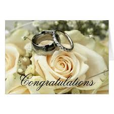 wedding congratulations wedding congratulations card zazzle