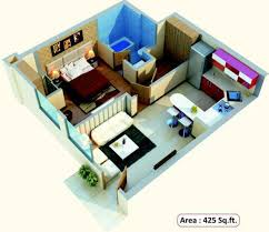425 sq ft 1 bhk 1t apartment for sale in aadhar group albatross