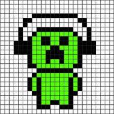 minecraft pixel art templates art project and ideas pinterest
