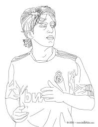 mezut ozil german football player coloring pages hellokids com
