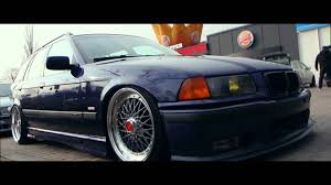 bmw e36 stanced bmw e36 bbs rs 18