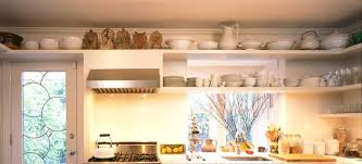 kitchen on top of cabinets how to decorate above kitchen cabinets ideas for