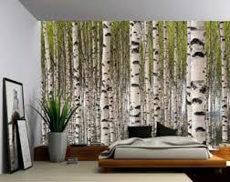 birch tree wallpaper interior inspirational rbservis com