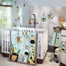 Nojo Jungle Crib Bedding by Baby Boy Crib Bedding Sets With Bumper Baby Boy Bedding Crib Sets