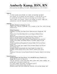 Sample Resume For Er Nurse by Er Nurse Responsibilities