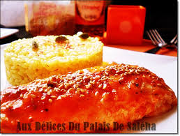 cuisiner chignons de frais a la poele recette saumon au four vinaigre balsamique miel aux delices du