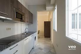 Apartment Galley Kitchen Seville Apartment Rioja Street Seville Spain Rioja 3a