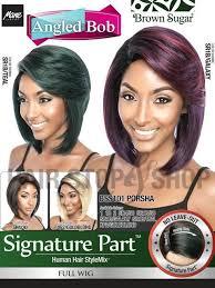 wigs by porsha mane concept brown sugar signature part bss101 porsha full wig