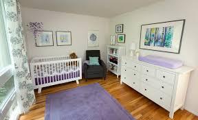 Purple Nursery Decor A Purple Aqua And White Nursery Project Nursery