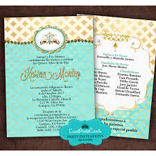 gold u0026 turquoise quinceanera invitations b princess quinceanera