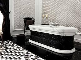 black and white bathroom tile design ideas black and white marble tile bathroom room design ideas