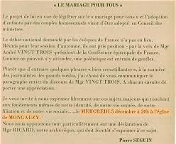 discours mariage le mariage pour tous discutons en à mongauzy le 5 décembre