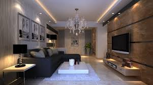 perfect modern living room lighting with room hidden lighting