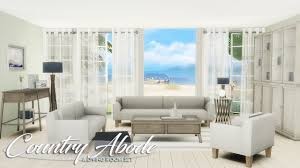 lana cc finds country abode a livingroom set ts4 room sets