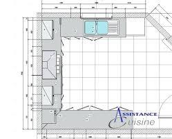 plan de cuisine avec ilot central plan cuisine en u avec ilot beau plan de cuisine en u cuisine plan