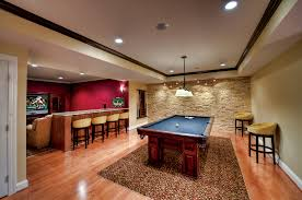 unfinished basement lighting ideas at family room unfinished