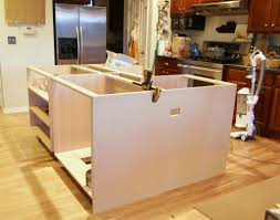 awesome build kitchen island with cabinets also diy from pre made