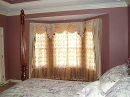 Kitchen Bay Window Treatments Window Treatment Ideas For Bay Windows Home Decorating Ideas Bow