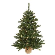 2 ft anoka pine artificial tree in burlap base with