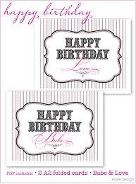 birthday cards for printing u2013 gangcraft net