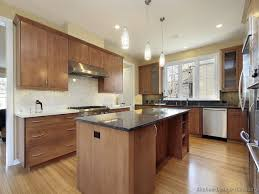 Kitchens With Light Wood Cabinets Light Wood Floors And Kitchen Cabinets Brown And White Kitchen