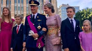 belgian royal family attended national day celebrations 2017 youtube