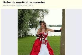 vendre sa robe de mariã e le bon coin trompée une femme vend sa robe de mariage maudite