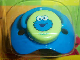 sesame street pacifier elmo big bird cookie monster baby