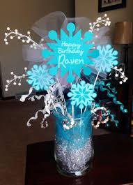 frozen centerpieces frozen party decorations decoration for frozen birthday party