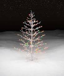 wire christmas tree with lights trim a home 45 multicolor lighted stick christmas tree stick trees
