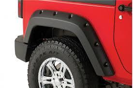 2011 jeep wrangler fender flares bushwacker pocket style fender flares for jeep jk wrangler and