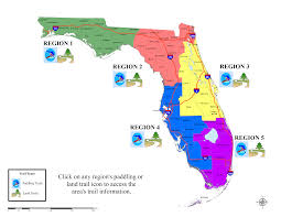 Map East Coast Florida by Florida Greenways And Trails Online Trail Guide Landing Page