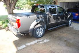 nissan titan nismo exhaust finally exhaust is done magnaflow muffler and custom piping