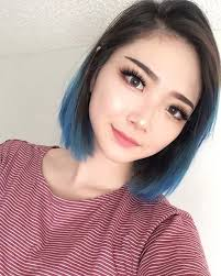 hair relaxer for asian hair best 25 blue tips hair ideas on pinterest blue tips hair with