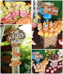 spongebob party ideas kara s party ideas spongebob squarepants birthday party planning