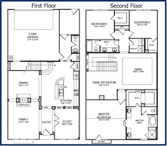4 bedroom floor plans with basement houseplans biz house plan the albany story plans with no basement