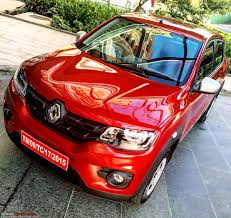 renault kwid red colour the renault kwid 1 0l edit launched at rs 3 83 lakhs page 4