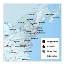 Map Of Usa With Capitals And Major Cities by Why Choose The Hartford Region