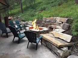 how to light a fire pit fire pit they light this every single night picture of hidden