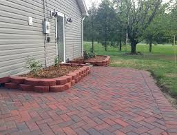 Stamped Concrete Patio Diy Colored Stamped Concrete Patio Home Design Ideas